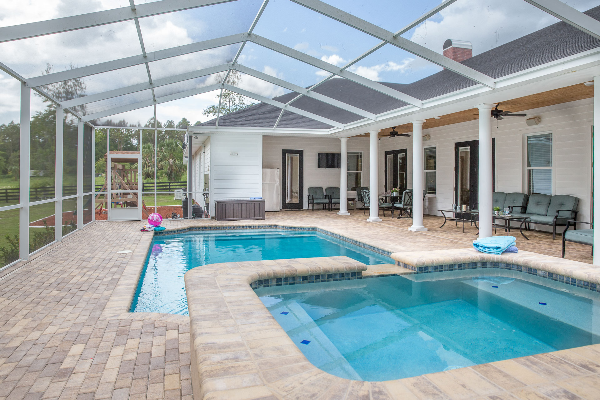 100 pool home swimming pool house designs stun for Virtual pool builder
