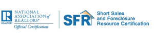 NAR Short Sales and Foreclosure Resource Certification Logo
