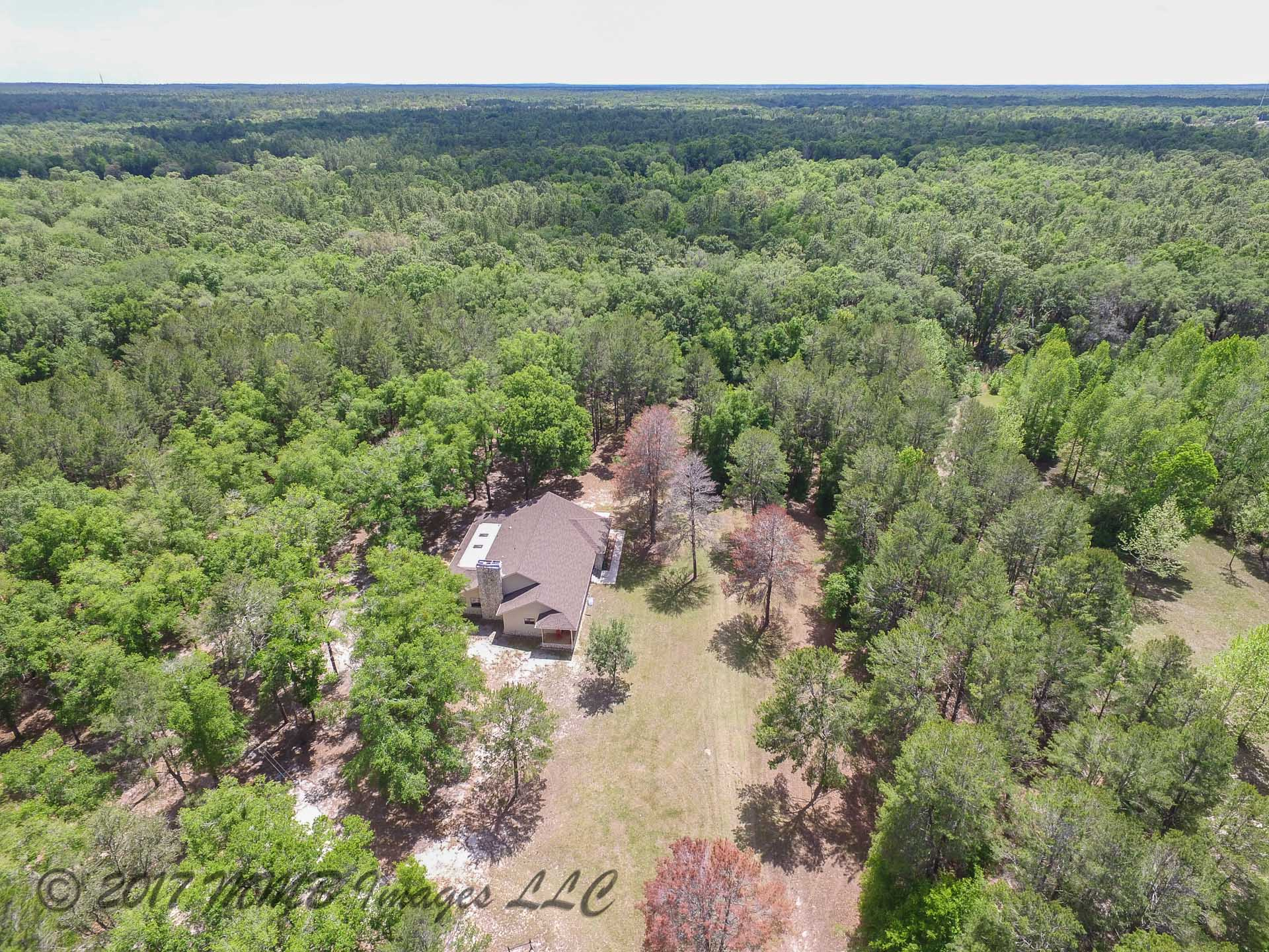 Aerial Photo of the Farm for Sale in Citrus County
