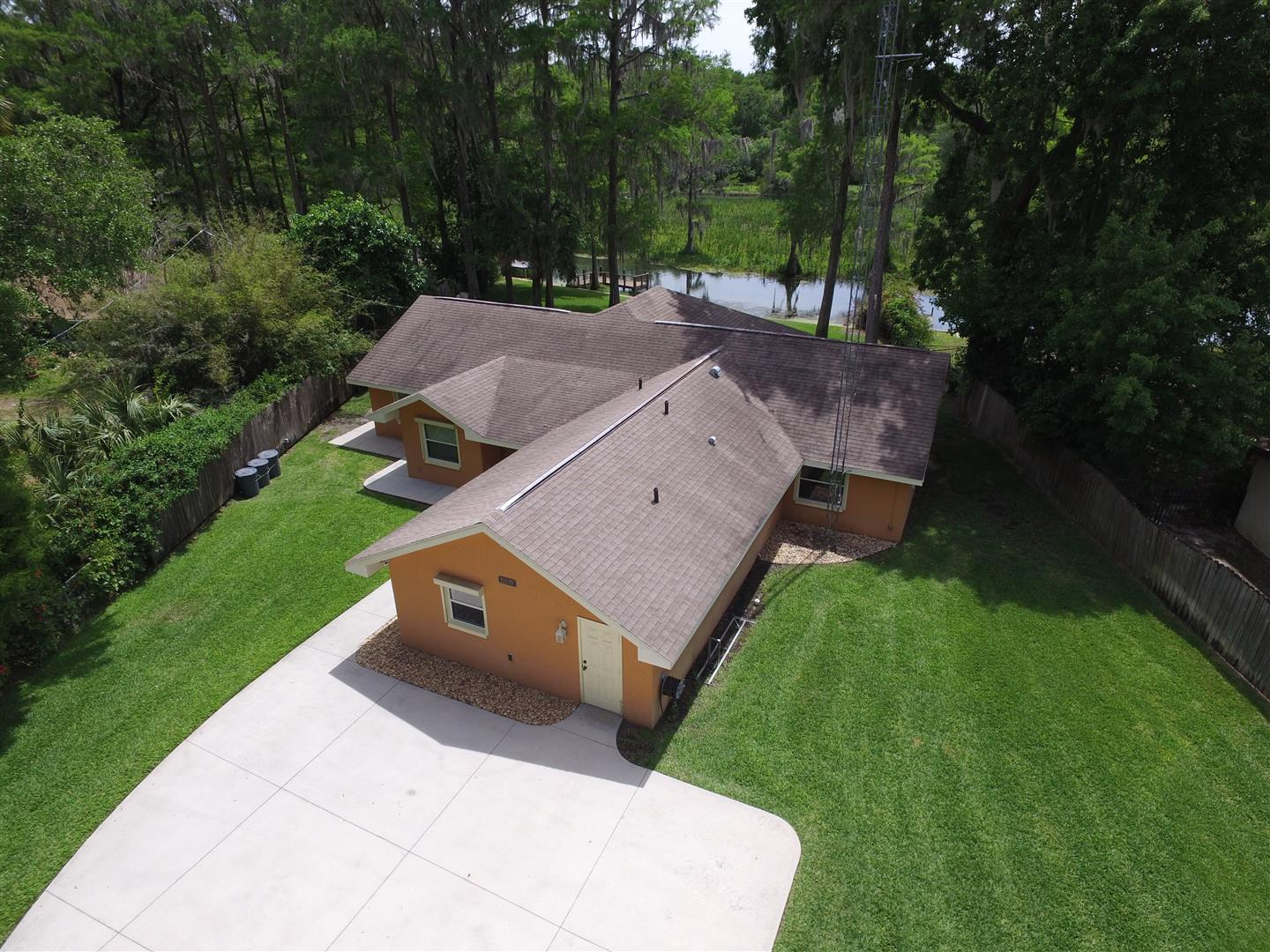 Aerial Photo of the Rainbow River Home for Sale in Dunnellon, Marion County
