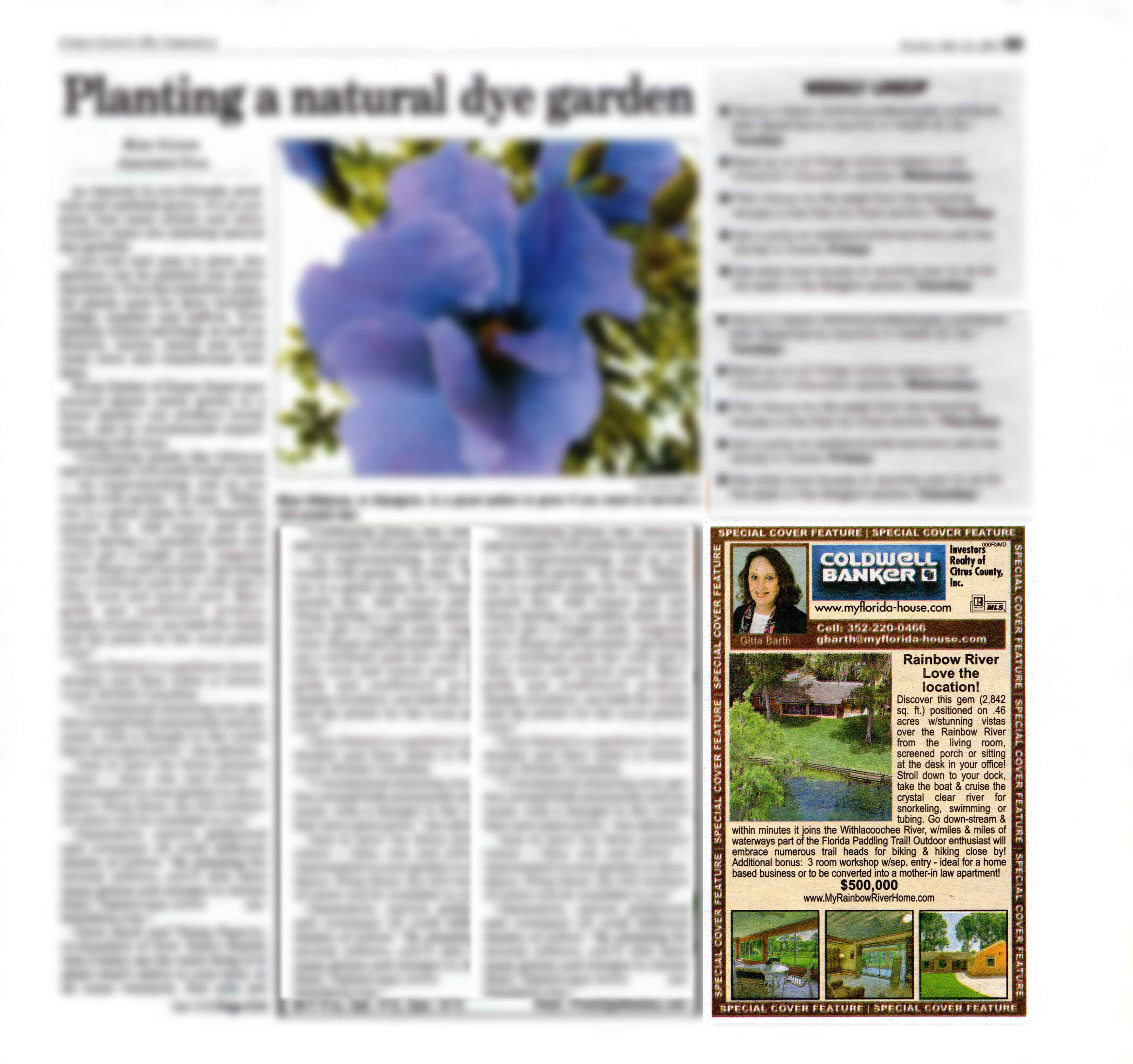 My Homefront Ads 21  May 2017 in the Citrus County Chronicle
