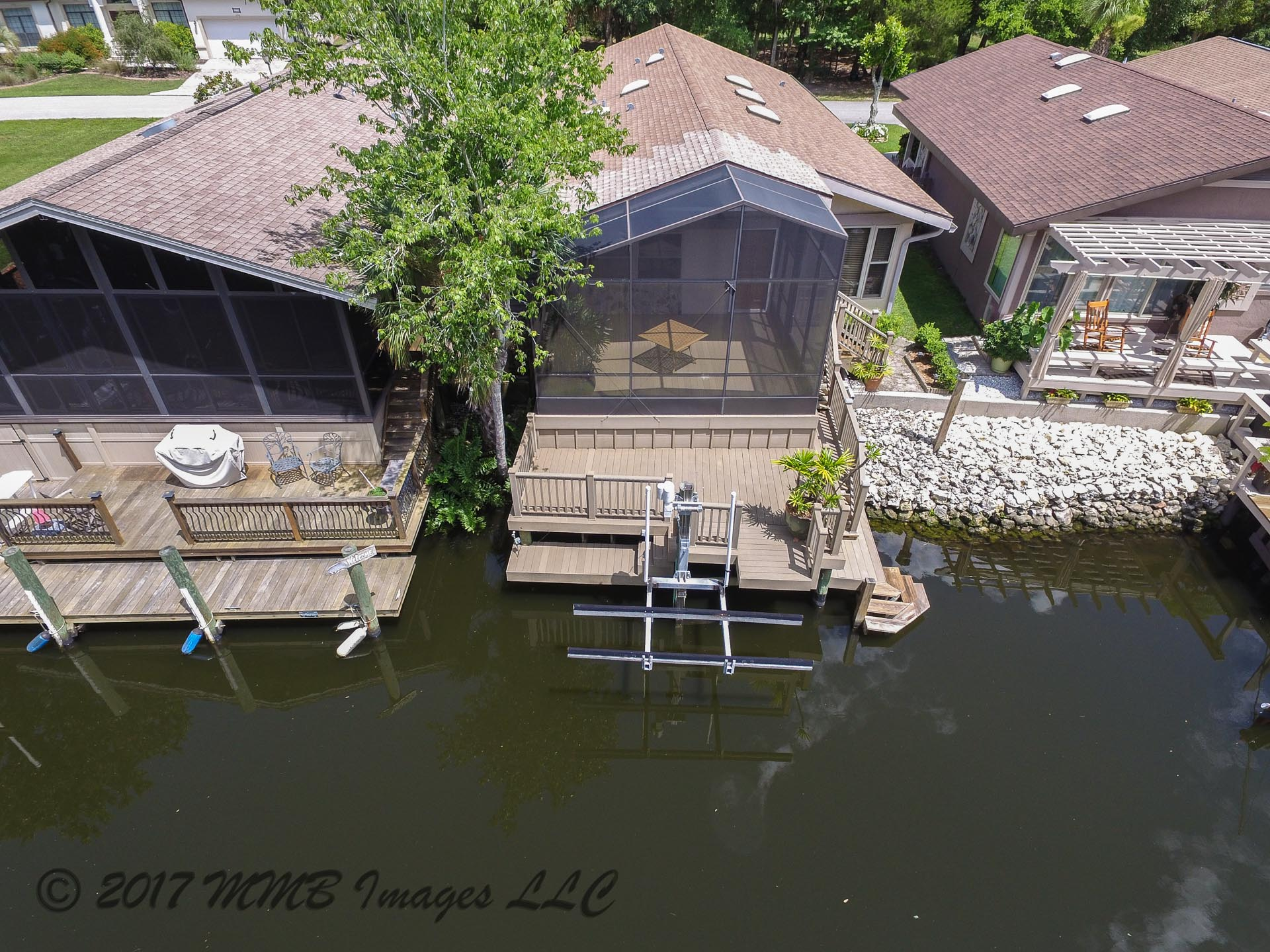 Aerial Photo of the Homosassa River Home for Sale in Homosassa, Citrus County