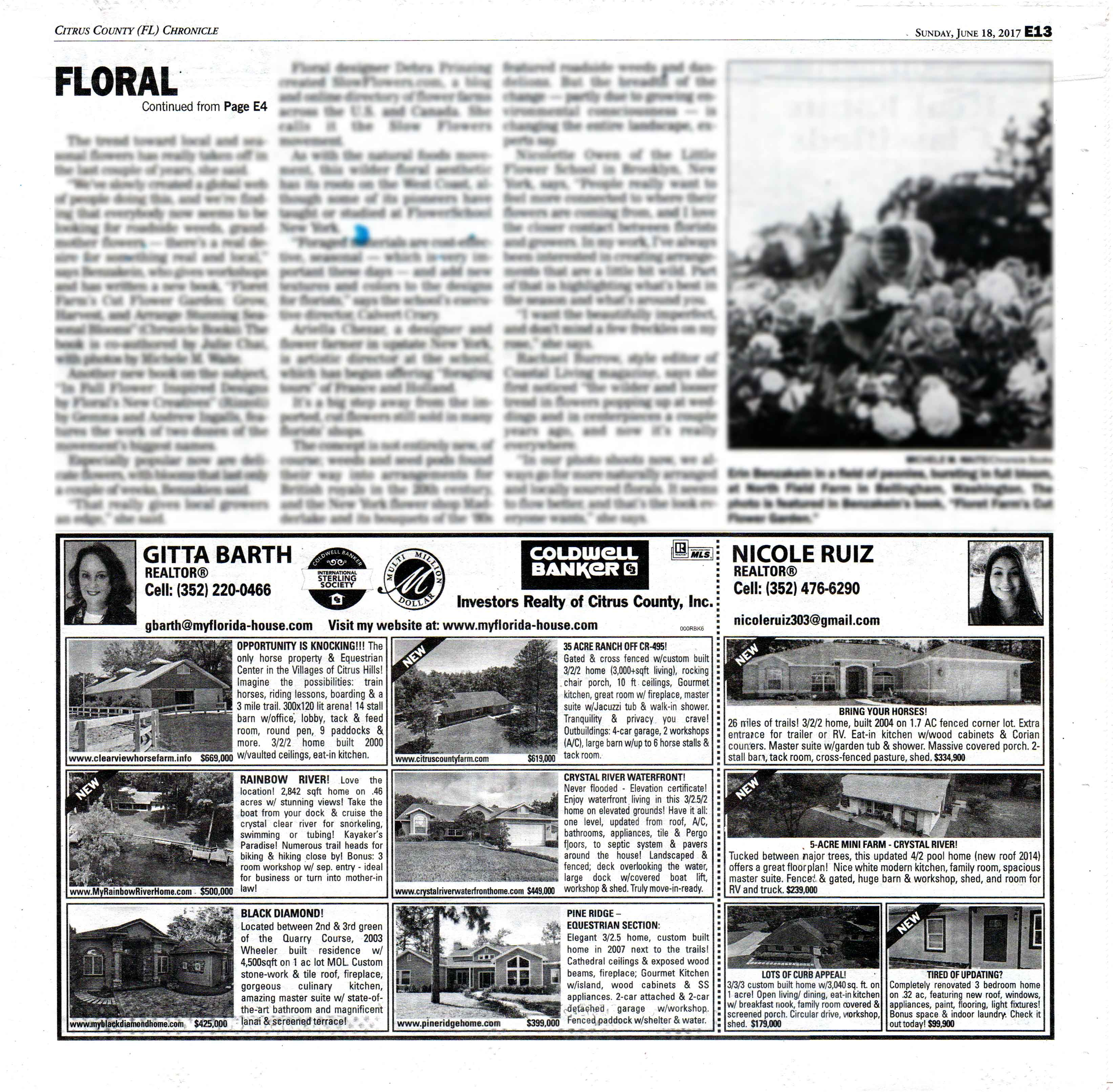 Citrus County Chronicle Archives - Florida Real Estate