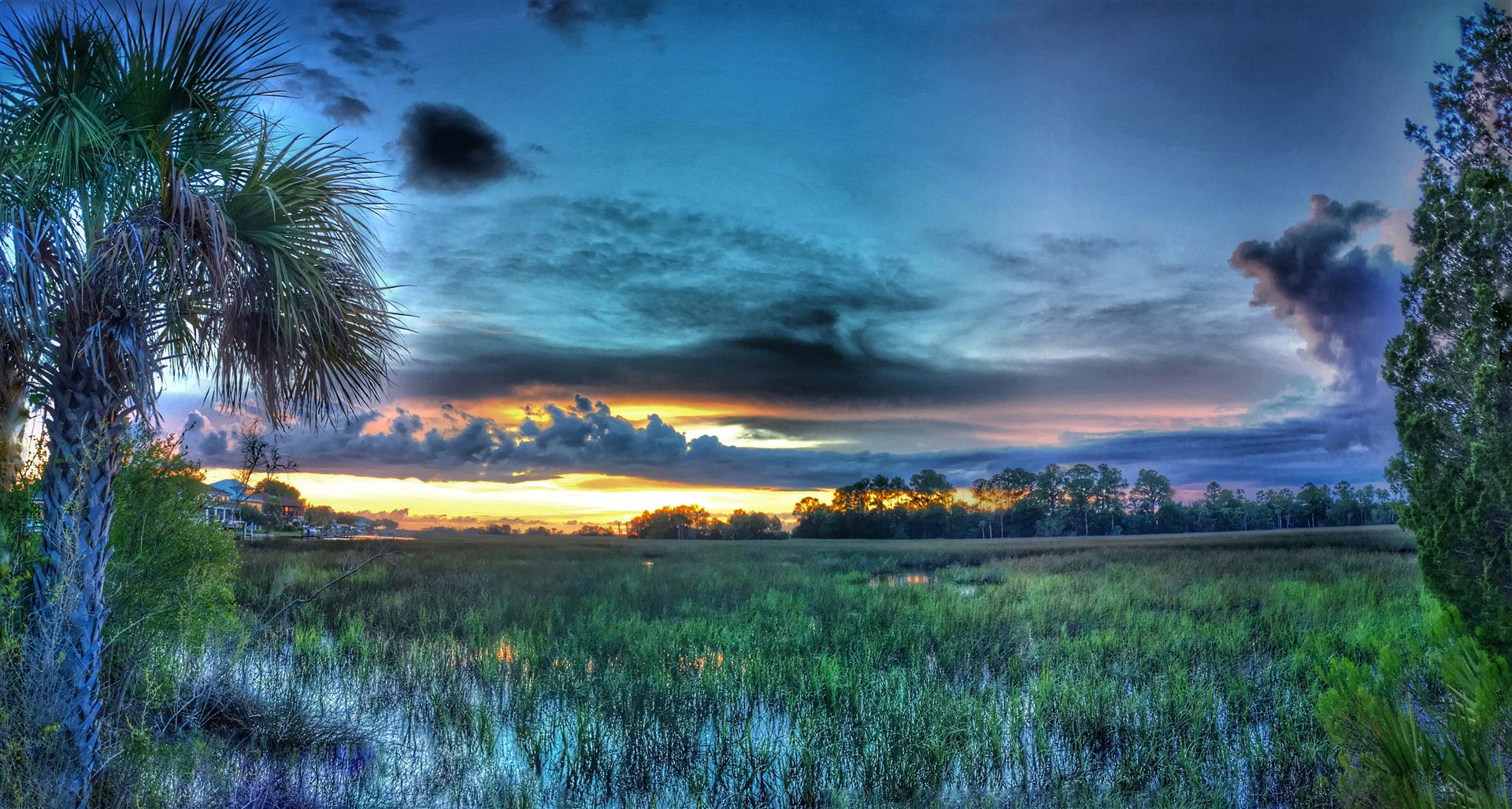 View over Water in Dixie Shores, Crystal River, FL