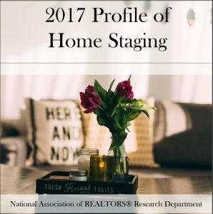 NAR 2017 Home Staging Report Survey Graphics